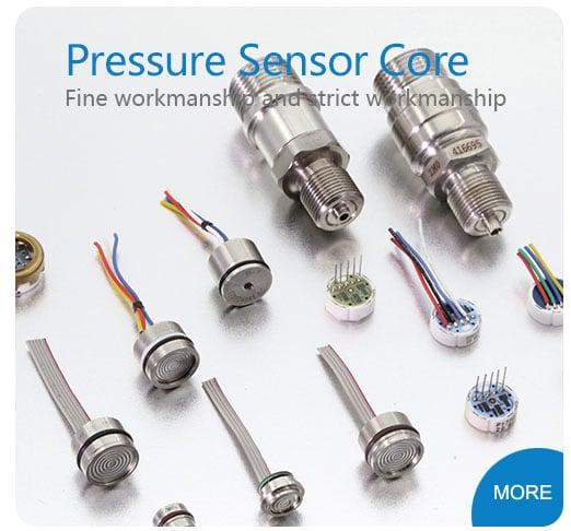 Ceramic pressure sensors